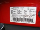 2007 Ram 3500 Color Code for Flame Red - Color Code: PR4