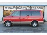 2001 Light Carmine Red Metallic Chevrolet Astro LS Passenger Van #60561714