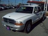 2004 Bright White Dodge Dakota SLT Quad Cab #60561708