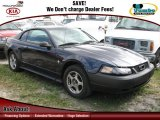 2003 True Blue Metallic Ford Mustang V6 Coupe #60562010