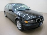 2002 Jet Black BMW 3 Series 325xi Sedan #60561312