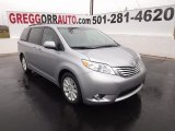 2012 Silver Sky Metallic Toyota Sienna Limited #60561678