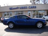 2007 Vista Blue Metallic Ford Mustang V6 Deluxe Coupe #60561645