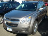2012 Graystone Metallic Chevrolet Equinox LT AWD #60561266
