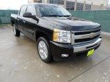 2009 Black Chevrolet Silverado 1500 LT Crew Cab #60561603