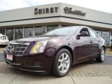 2009 Black Cherry Cadillac CTS Sedan #6045856