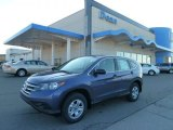 2012 Twilight Blue Metallic Honda CR-V LX 4WD #60561904