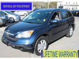2009 Royal Blue Pearl Honda CR-V EX-L 4WD #60624704