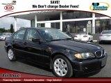 2002 Jet Black BMW 3 Series 325i Sedan #60624974