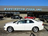2010 White Platinum Tri-coat Metallic Ford Fusion SEL V6 AWD #60624770