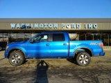 2012 Blue Flame Metallic Ford F150 FX4 SuperCrew 4x4 #60624760