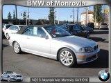 2001 Titanium Silver Metallic BMW 3 Series 330i Convertible #60624748