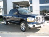 2006 Patriot Blue Pearl Dodge Ram 1500 SLT Lone Star Edition Quad Cab #6055970