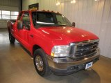 2003 Red Clearcoat Ford F250 Super Duty XLT SuperCab #60656995
