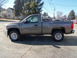 2012 Mocha Steel Metallic Chevrolet Silverado 1500 Work Truck Regular Cab 4x4 #60656754