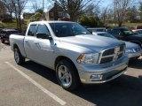 2011 Bright Silver Metallic Dodge Ram 1500 Big Horn Quad Cab 4x4 #60656705