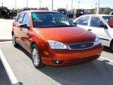 2005 Ford Focus Blazing Copper Metallic