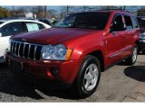 2006 Red Rock Crystal Pearl Jeep Grand Cherokee Limited 4x4 #60657104