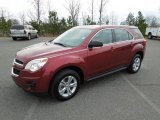 2010 Cardinal Red Metallic Chevrolet Equinox LS #60657069