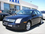 2008 Dark Blue Ink Metallic Ford Fusion SE #6051799