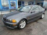 2002 Steel Grey Metallic BMW 3 Series 325i Coupe #60696806