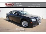 2008 Brilliant Black Crystal Pearl Chrysler 300 LX #60696797