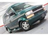 2000 Dark Forest Green Metallic Chevrolet Astro AWD Passenger Conversion Van #60696525