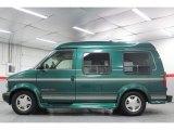 2000 Chevrolet Astro Dark Forest Green Metallic