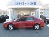 2010 Sangria Red Metallic Ford Fusion SE V6 #60696789