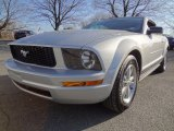 2006 Satin Silver Metallic Ford Mustang V6 Deluxe Convertible #60696252