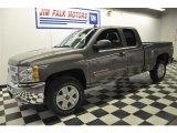 2012 Graystone Metallic Chevrolet Silverado 1500 LT Extended Cab 4x4 #60696756