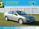 2009 Moss Green Metallic Ford Fusion S #60696733