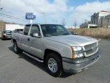 2005 Silver Birch Metallic Chevrolet Silverado 1500 Extended Cab 4x4 #60696184