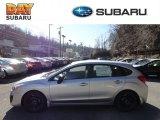 2012 Ice Silver Metallic Subaru Impreza 2.0i 5 Door #60696174