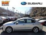 2012 Ice Silver Metallic Subaru Impreza 2.0i Premium 4 Door #60696171