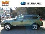 2012 Cypress Green Pearl Subaru Outback 2.5i Premium #60696162