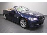 2012 Deep Sea Blue Metallic BMW 3 Series 328i Convertible #60696459