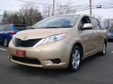 2011 Sandy Beach Metallic Toyota Sienna LE #60696672