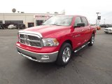 2012 Flame Red Dodge Ram 1500 Big Horn Crew Cab 4x4 #60696442