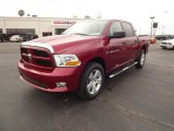 2012 Deep Cherry Red Crystal Pearl Dodge Ram 1500 Express Crew Cab #60696439