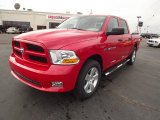 2012 Flame Red Dodge Ram 1500 Express Crew Cab #60696437