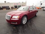 2012 Deep Cherry Red Crystal Pearl Chrysler 300 C #60696431