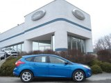 2012 Blue Candy Metallic Ford Focus SE Sport 5-Door #60696117