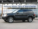 2002 Black Jeep Grand Cherokee Limited 4x4 #60696388