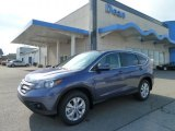 2012 Twilight Blue Metallic Honda CR-V EX 4WD #60696600