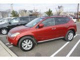 2007 Sunset Red Pearl Metallic Nissan Murano SL AWD #60696359