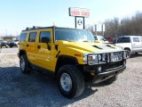 2003 Yellow Hummer H2 SUV #60696591