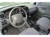 2001 Suzuki Grand Vitara JLX 4x4 Gray Interior
