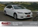 2008 Super White Toyota Camry SE #60696048
