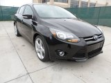 2012 Tuxedo Black Metallic Ford Focus Titanium 5-Door #60696302